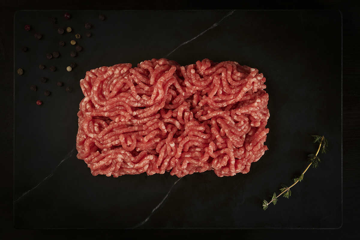 Mixed Ground Beef and Ground Lamb (500 gr.)